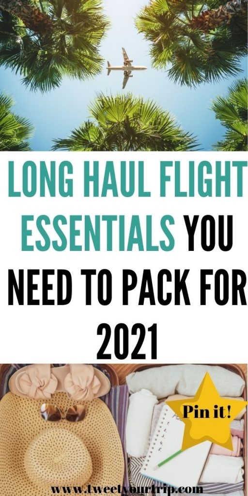 Heading away on holiday? Then this is the best long haul flight essentials list that walks you through exactly what to pack by Laura at Tweet Your Trip