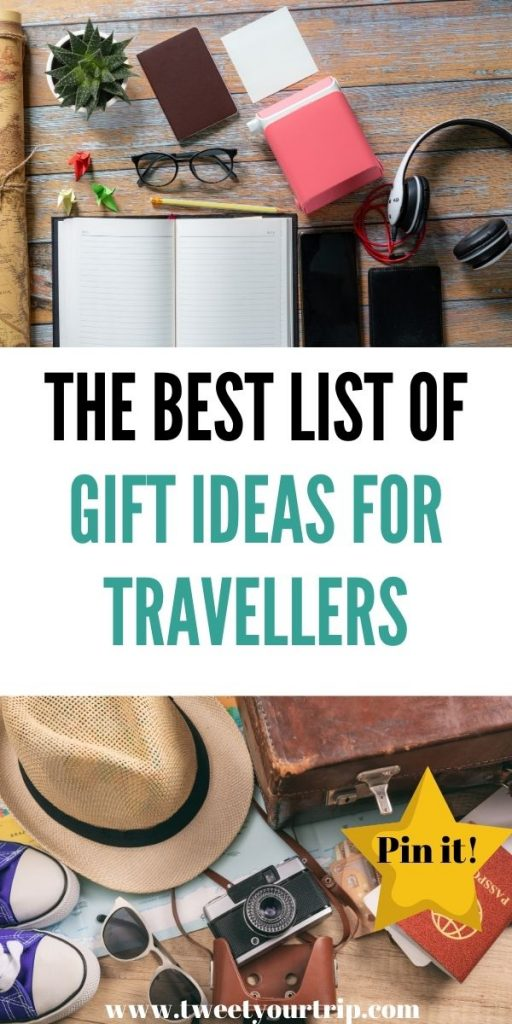 These are the best gift ideas for travellers that everyone needs. We've included gifts that you may not have even thought of by Laura at Tweet Your Trip.