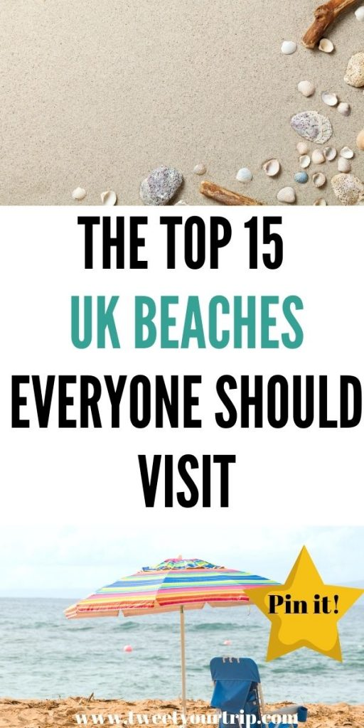 Here are the top 15 UK beaches that everyone needs to visit. They are great for families and solo travellers that want white sand by Laura at Tweet Your Trip.
