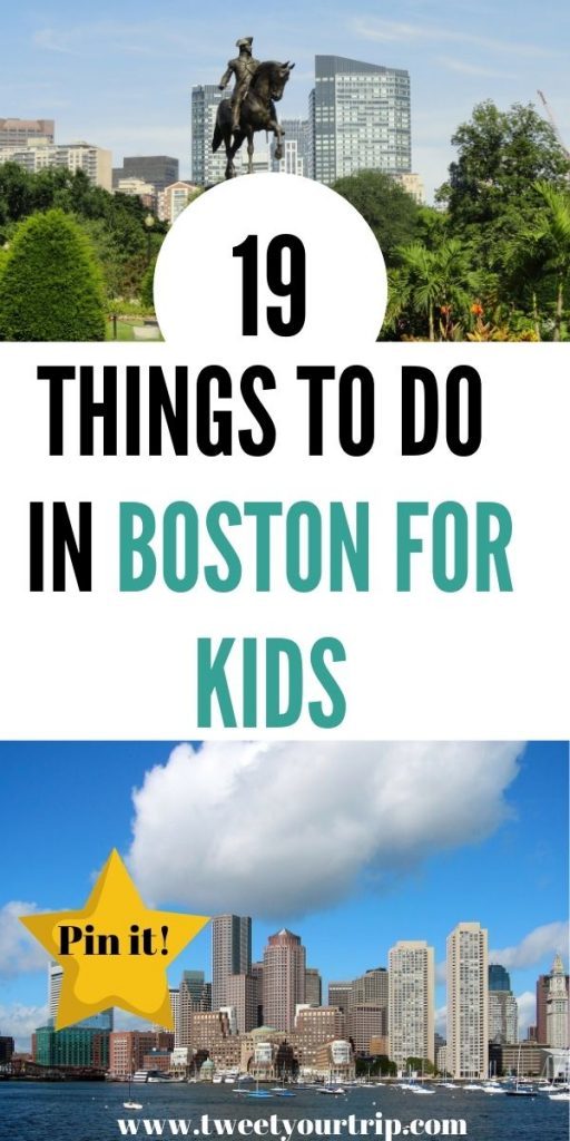 We have found the best places to go in Boston for kids. All of these activities are family-friendly and fun for all ages by Laura at TweetYourTrip.com