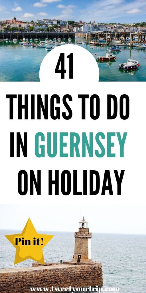 Here are 41 things to do in Guernsey including visiting Herm Beach, taking a horse ride in Sark and watching the sun go down every night by Laura at TweetYourTrp.com