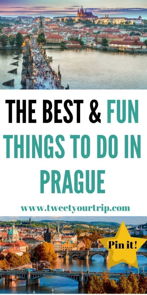 These are the best & fun things to do in Prague for adults. Have fun and really explore this city while you are there by Laura at TweetYourTrip.com