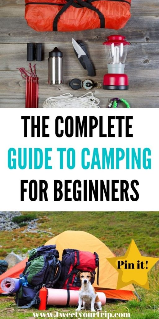 This is the complete guide to camping for beginners. We've included everything from the best tents to FAQs for beginners by Laura at Tweet Your Trip