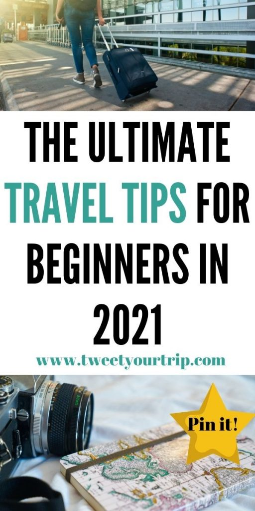 This is the ultimate travel tips for beginners that you before you travel. We've included everything from packing lists to travel ideas by Laura at TweetYourTrip.com